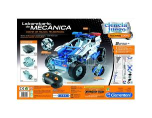 RC Police Car Mechanical Laboratory Clementoni