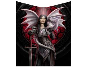 ANNE STOKES VALOUR BLANKET COPERTA NEMESIS NOW