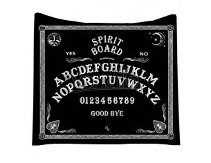 OUIJA SPIRIT BOARD BLANKET COPERTA NEMESIS NOW