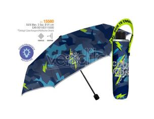 Cool Kids manual folding umbrella 50cm Perletti
