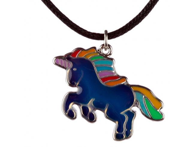 Unicorn Metallo Collana