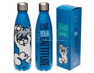 Simons Cat Stainless Steel Bottiglia 500ml