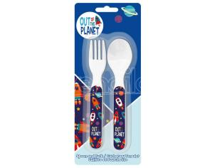 Out Of This Planet Cutlery Set Bambino Licensing