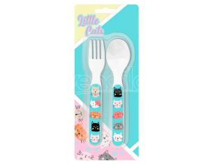 Little Cats cutlery set Kids Licensing