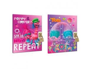 Trolls Poppy Diario Con Locker Dreamworks