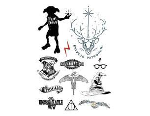 Harry Potter Pack 35 Tatuaggi Cinereplicas