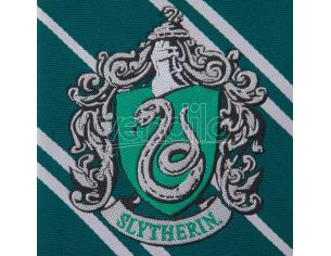 Harry Potter Serpeverde Woven Logo Cravatta Cinereplicas
