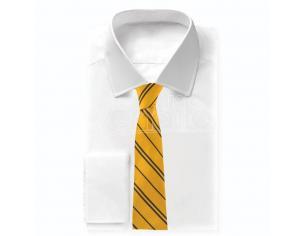 Harry Potter Hufflepuff woven logo necktie Cinereplicas