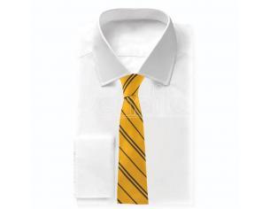 Harry Potter Hufflepuff woven logo kids necktie Cinereplicas