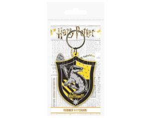 Harry Potter Tassorosso Rubber Portachiavi Pyramid