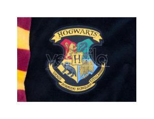 Harry Potter Accappatoio Nero con Stemma Hogwarts Taglia Unica Groovy