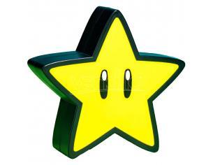 Super Mario Mini Lampada Stella con Suoni Super Star 12 cm Paladone