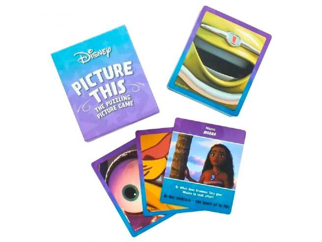 Disney Trivial english card game Paladone
