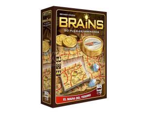 Brains Treasure Map Gioco Da Tavolo Sd Games