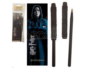 Harry Potter Severus Piton Wand Pend E Segnalibro Noble Collection