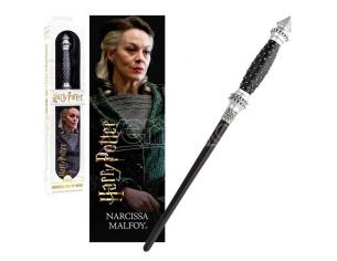 Harry Potter Bacchetta Magica Narcissa Malfoy + Segnalibro 3D Noble Collection