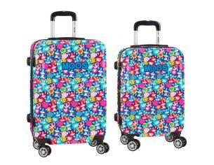 Moos Corgi set 2 ABS trolley suitcase 55/68cm 4w Safta