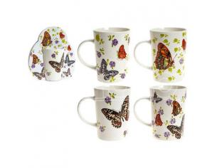 Assorted butterfly mug