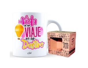 La Vida Es Un Viaje No Un Destino mug Mr. Cool