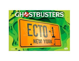 Ghostbusters ECTO 1 number plate replica Doctor Collector