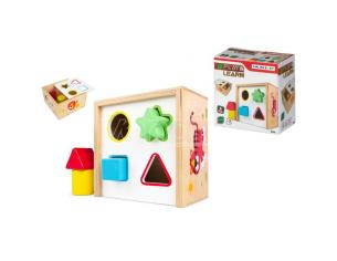 Wooden Shape Box Play & Learn