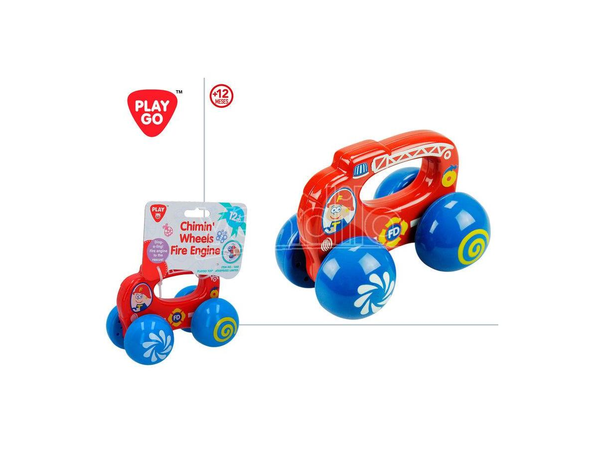 Chimin Wheels Fire Engine Playgo