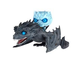 Game Of Thrones Funko POP TV Vinile Figura Night King su Drago 15cm