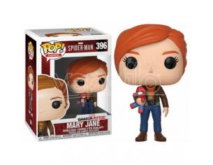 POP figure Marvel Spider-Man Mary Jane with plush Funko