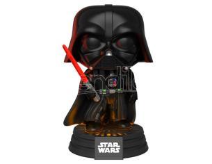 Pop Figura Star Wars Darth Vader Electronic Lights E Suono Funko