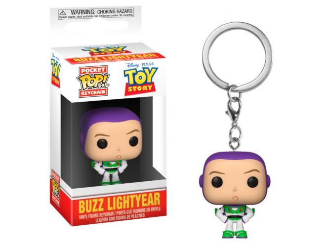 Pocket Pop Portachiavi Disney Pixar Toy Story Buzz Funko