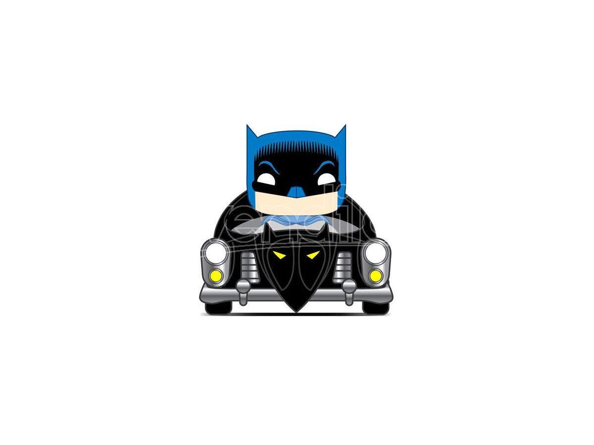 Pop Figura Dc Comics Batman 80th 1950 Batmobile Funko