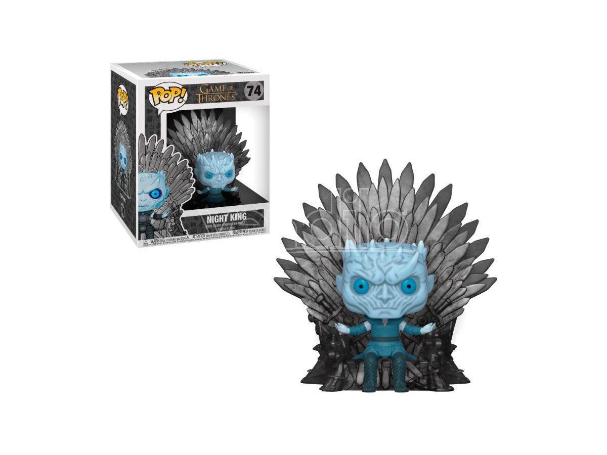 Pop Figura Game Of Thrones Night King Sitting On Throne Funko