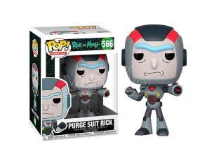 Pop Figura Rick & Morty Purge Suit Rick Funko
