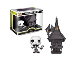 Pop Figura Disney Nightmare Before Natale Jack Con Jacks House Funko