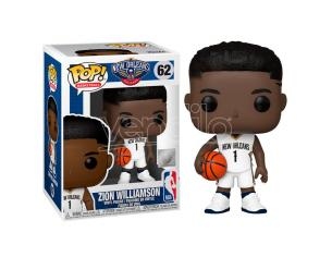 Pop Figura Nba New Orleans Pelicans Zion Williamson Funko