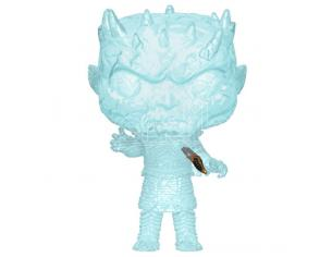 Game Of Thrones Funko POP TV Vinile Figura Night King con Pugnale in Petto 9 cm