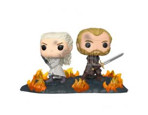 POP figure Game of Thrones Daenerys & Jorah B2B with Swords Funko