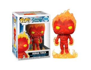 Pop Figura Marvel Fantastic Four Human Torch Funko