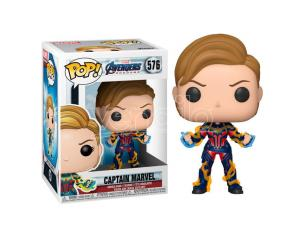 Pop Figura Marvel Avengers Endgame Captain Marvel Con New Hair Funko