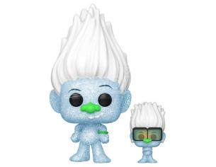 Pop Figura Trolls World Tour Hip Hop Guy Diamond Dglt Con Tiny Glitter Funko