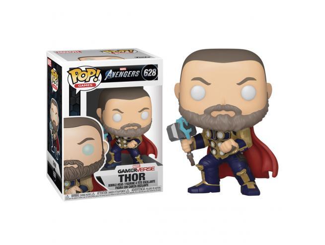 Pop Figura Marvel Avengers Game Thor Stark Tech Suit Funko