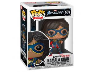 Pop Figura Marvel Avengers Game Kamala Khan Stark Tech Suit Funko