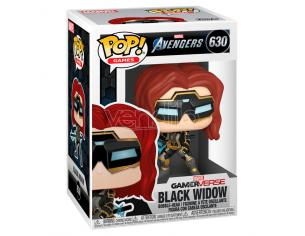Pop Figura Marvel Avengers Game Black Widow Stark Tech Suit Funko