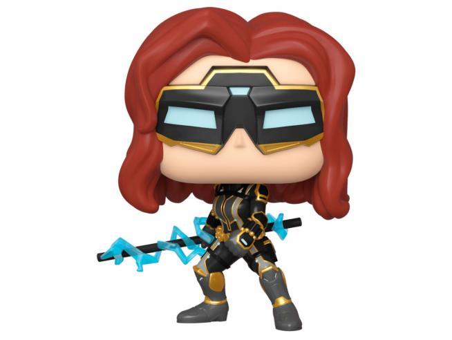 Pop Figura Marvel Avengers Game Black Widow Stark Tech Suit Funko