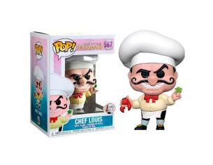 Pop Figura Disney Little Mermaid Chef Louis Funko