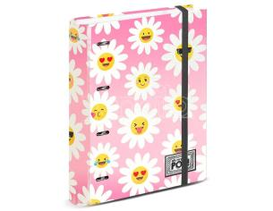 Oh My Pop Happy Flower A4 Album Per Carte Con Fogli Karactermania
