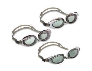 Swimming goggles polycarbonate anti-fog assortment Intex