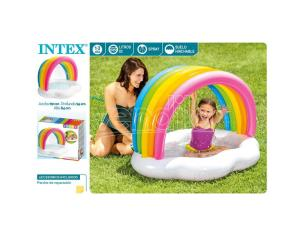 Rainbow Shower pool Intex