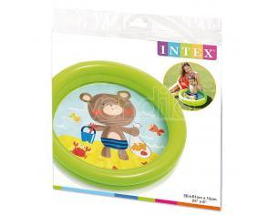 Baby Pool 2 Anelli Assortment Intex