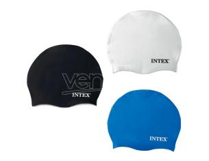 Silicone swimming cap assortment Intex
